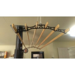 Victorian clothes drying rack