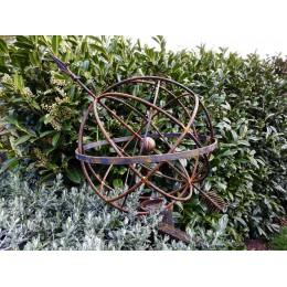 Sculptural  arrow sphere