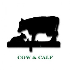 Cow & Calf Weather Vane