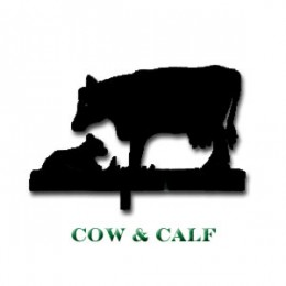 Cow & Calf Weather Vane