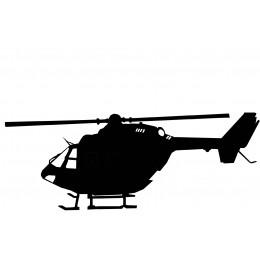 Helicopter Weather Vane