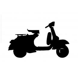 Scooter Weather Vane