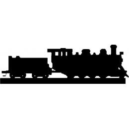 Steam Train Weather Vane